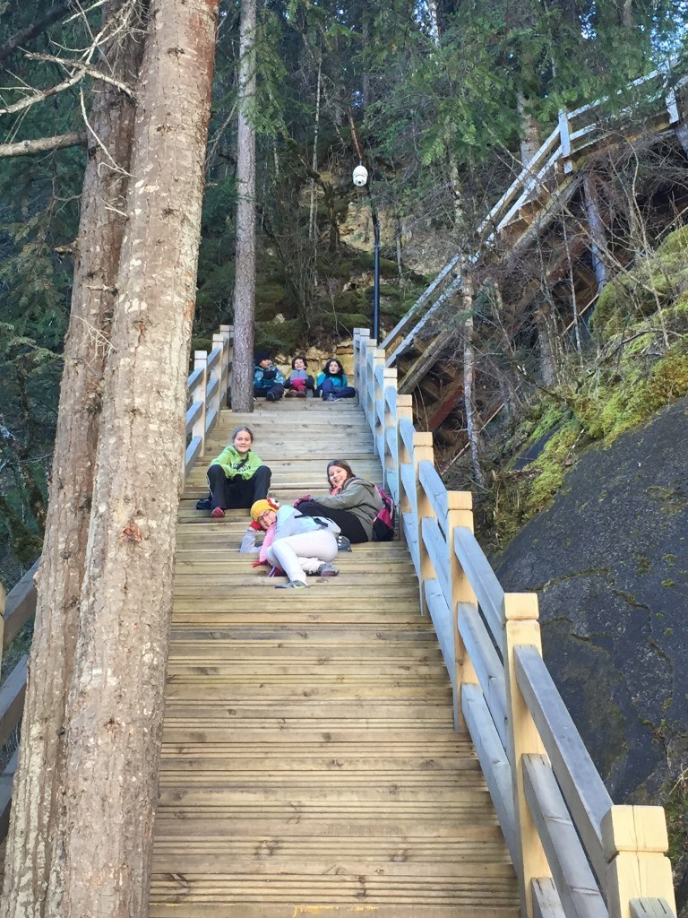 Climbing Zhaga Waterfall