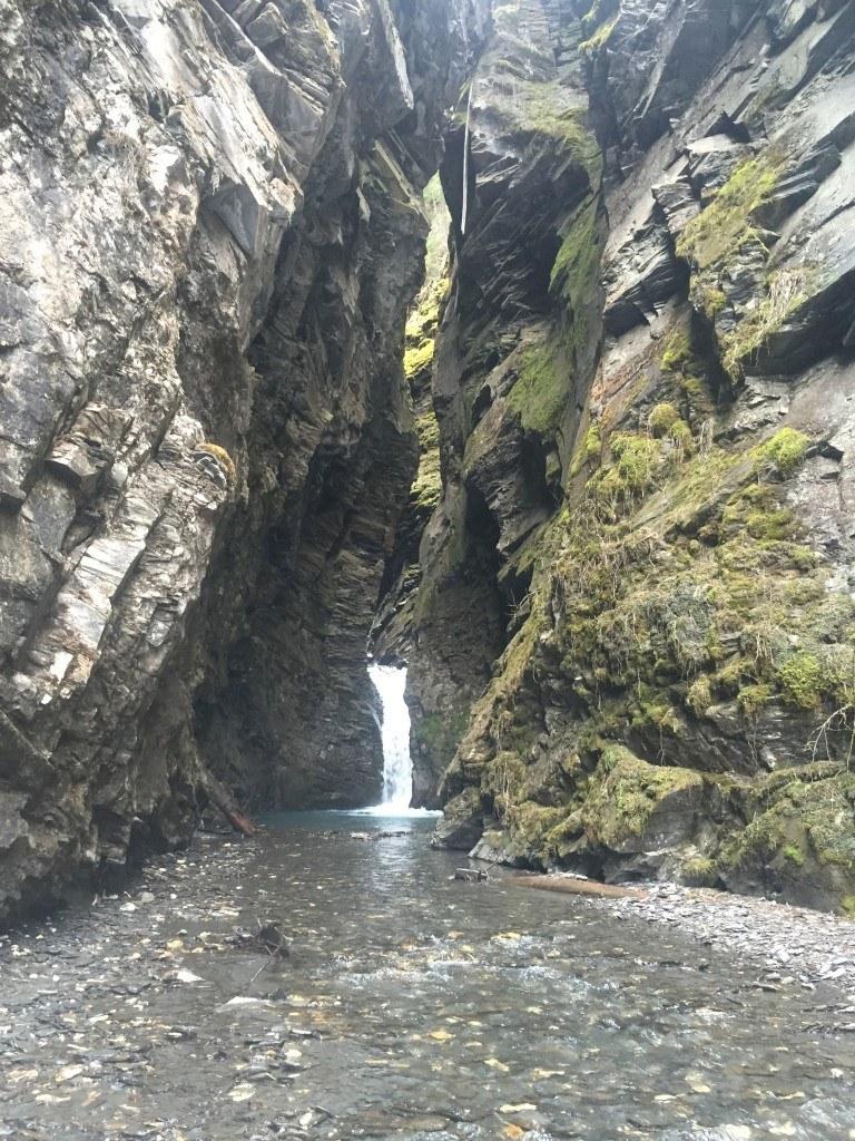 Slot Canyon Falls