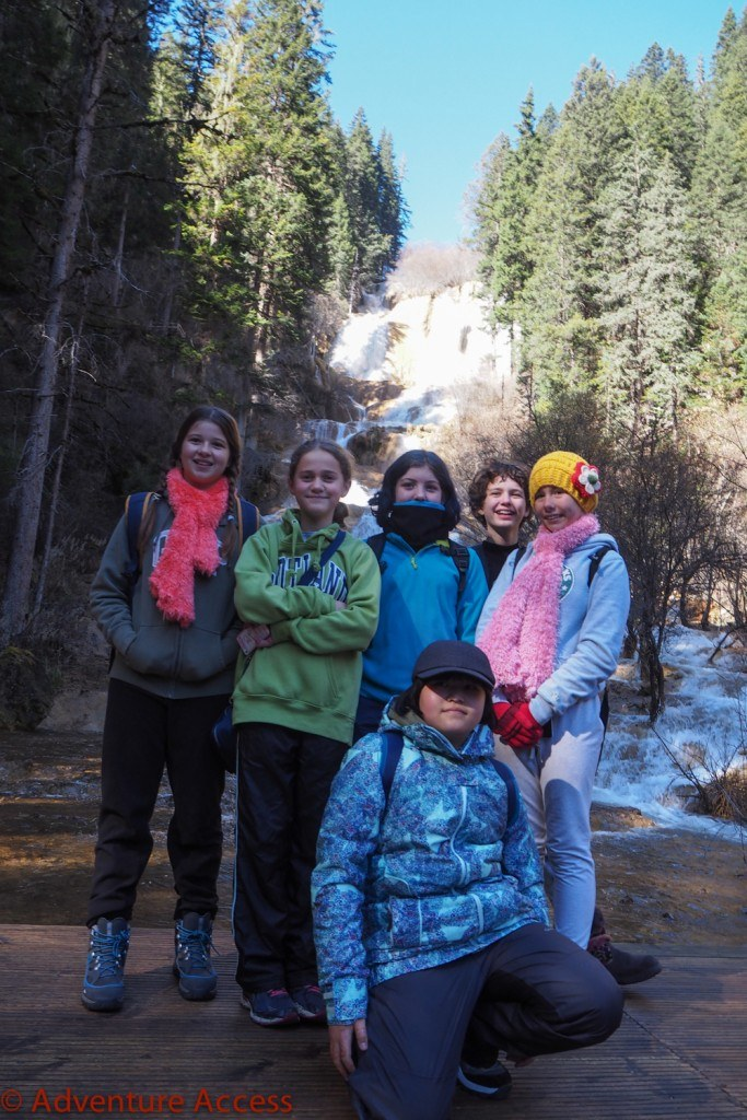 Wilderness-Weekend-Girl-Scouts-1-Zhaga Waterfall