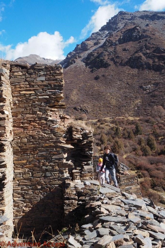 Wilderness-Weekend-Girl-Scouts-20-683×1024 Exploring the Chorten ruins near Mount Xuebaoding