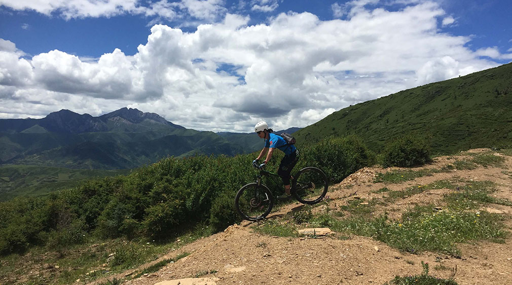 Mountain Biking in China and Eastern Tibet