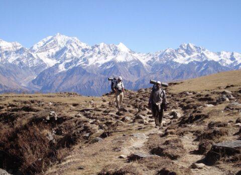 trekkers mountains